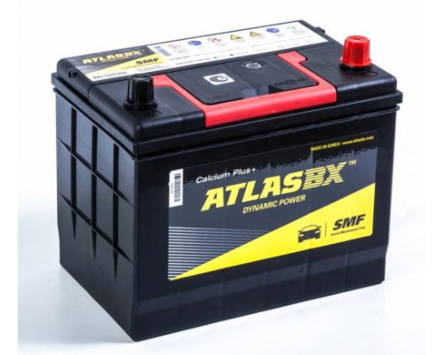 Автомобильный аккумулятор  Atlas 72 Ач