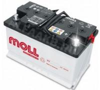 Автомобильный аккумулятор  Moll 90 Ач 315x175x190