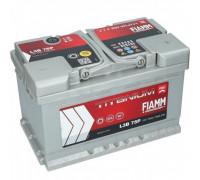 Автомобильный аккумулятор  Fiamm 75 Ач 278x175x175