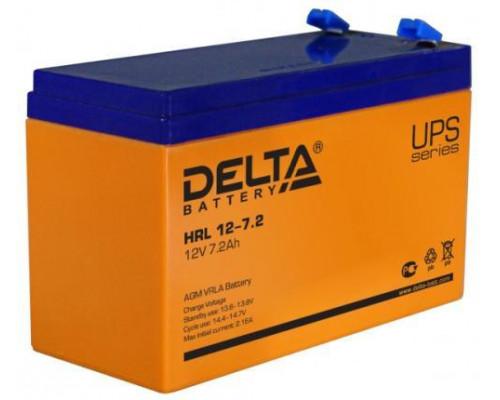 Аккумулятор Delta HRL 12-7.2 (12 вольт 7.2 а.ч)