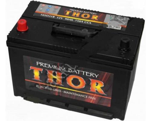 Автомобильный аккумулятор  Thor 90 Ач