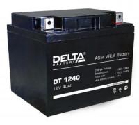 Автомобильный аккумулятор  Delta 40 Ач 198x166x170