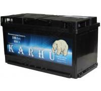 Автомобильный аккумулятор  Karhu 100 Ач 353x175x190