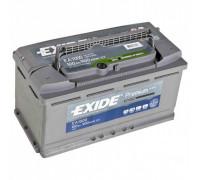 Автомобильный аккумулятор  Exide 100 Ач 353x175x190