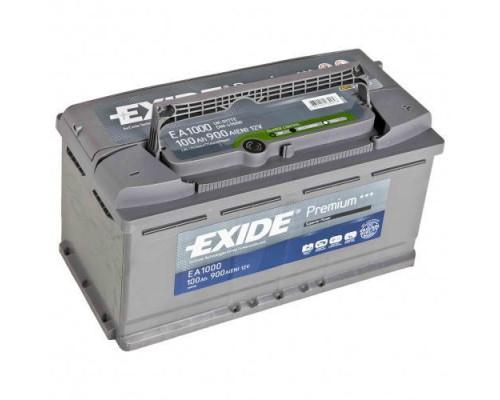 Автомобильный аккумулятор  Exide 100 Ач