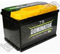 Автомобильный аккумулятор  Dominator 75 Ач 278x175x190