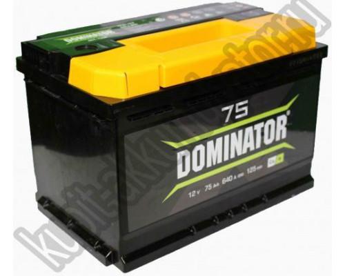 Автомобильный аккумулятор  Dominator 75 Ач