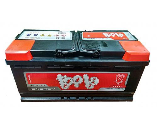 Автомобильный аккумулятор  Topla 110 Ач