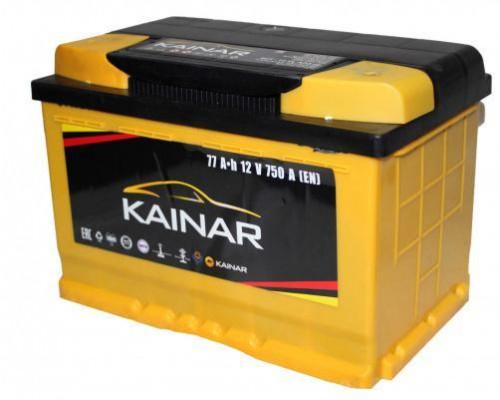 Автомобильный аккумулятор  Kainar 77 Ач