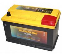 Аккумулятор Alphaline 80 Ач 315x175x195