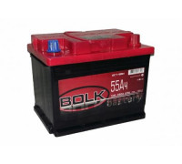 Автомобильный аккумулятор  Bolk 55 Ач 242x175x190