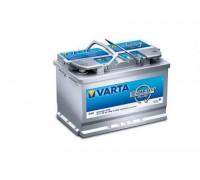 Автомобильный аккумулятор  Varta 70 Ач 278x175x190