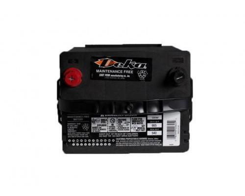 Автомобильный аккумулятор  Deka 52 Ач