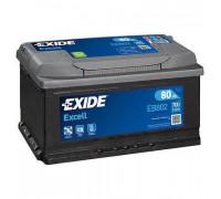 Автомобильный аккумулятор  Exide 80 Ач 315x175x175