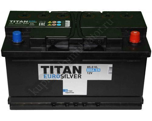 Автомобильный аккумулятор  Titan 85 Ач
