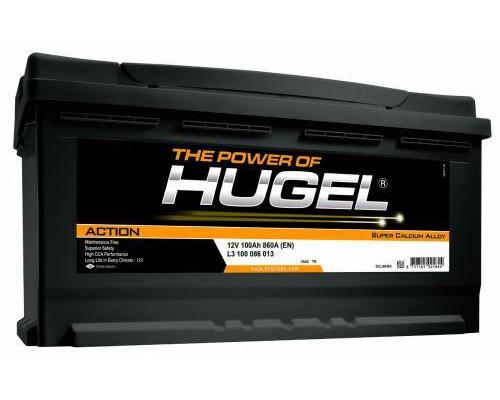 Автомобильный аккумулятор  Hugel 100 Ач