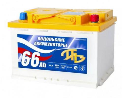 Автомобильный аккумулятор  Подольские 60 Ач