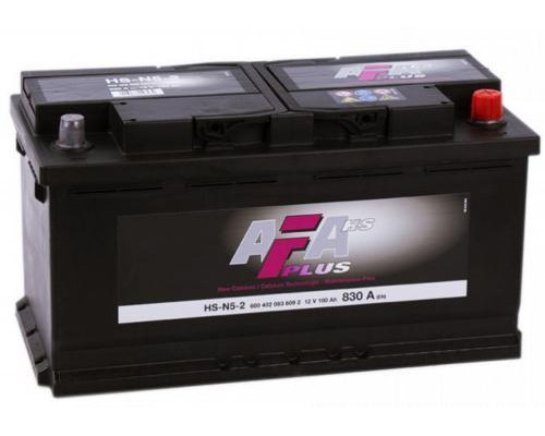 Автомобильный аккумулятор  Afa 100 Ач