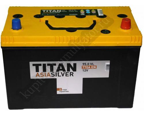 Автомобильный аккумулятор  Titan 95 Ач