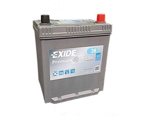 Автомобильный аккумулятор  Exide 38 Ач