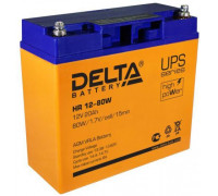 Аккумулятор Delta HR 12-80 W (12 вольт 20 ампер)
