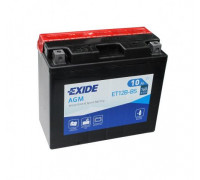 Мото аккумулятор Exide 10 Ач 150x70x130