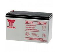 Аккумулятор для ИБП/UPS Yuasa  NP 7-12 ( 12-7 12 вольт 7 ампер)