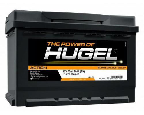 Автомобильный аккумулятор  Hugel 75 Ач