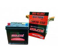 Автомобильный аккумулятор  Solite 60 Ач 206x172x205