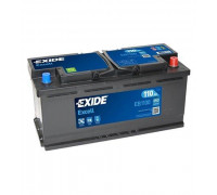 Автомобильный аккумулятор  Exide 110 Ач 392x175x190