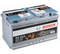 Автомобильный аккумулятор Bosch AGM S5 A11 80 А.ч Обратная полярность