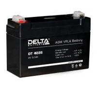 Аккумулятор Delta DT 4035 ( 4 вольт 3.5 а.ч)