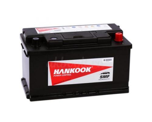 Автомобильный аккумулятор  Hankook 80 Ач