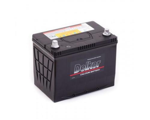 Автомобильный аккумулятор  Delkor 80 Ач