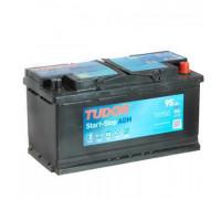 Гелевые автомобильные аккумуляторы TUDOR AGM 95 A.ч TK950 Обратная полярность
