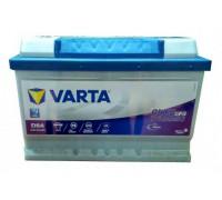 Автомобильный аккумулятор Varta Blue Dynamic EFB 65Ач EN650А о.п. (278х175х175, B13) D54 / 565 500 065 Обратная полярность. низкий