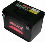 Автомобильный аккумулятор  Solite 75 Ач 260x179x184