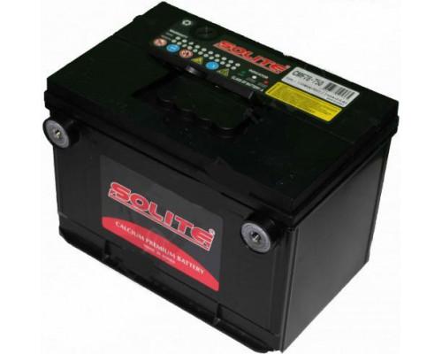 Автомобильный аккумулятор  Solite 75 Ач