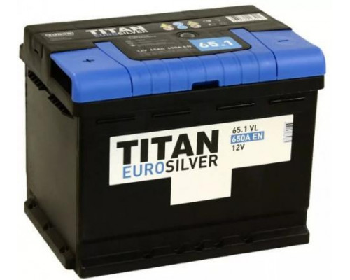Автомобильный аккумулятор  Titan 65 Ач