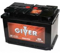 Автомобильный аккумулятор  Giver 66 Ач 278x175x190