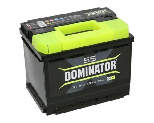 Автомобильный аккумулятор  Dominator 55 Ач