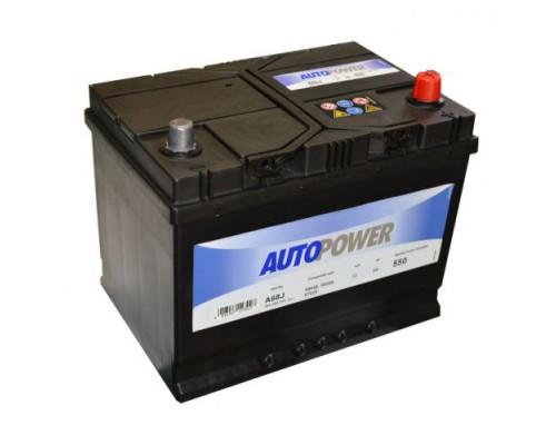 Автомобильный аккумулятор  Autopower 68 Ач