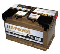 Автомобильный аккумулятор  Storm 78 Ач 278x175x175
