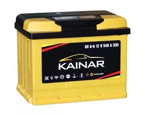 Автомобильный аккумулятор  Kainar 60 Ач