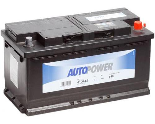 Автомобильный аккумулятор  Autopower 100 Ач