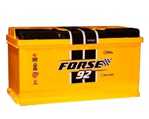 Автомобильный аккумулятор  Forse 92 Ач