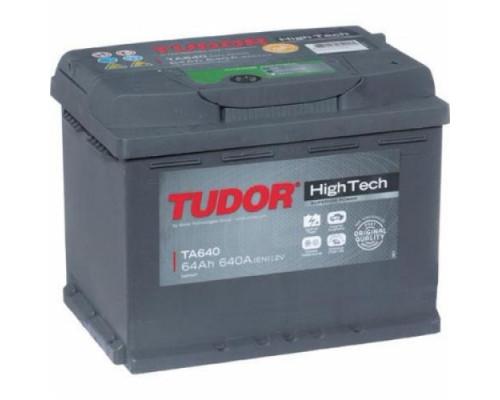Автомобильный аккумулятор  Tudor 64 Ач
