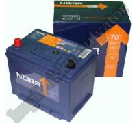 Автомобильный аккумулятор  Norr 70 Ач 260x173x225