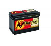 Аккумулятор BANNER Running Bull AGM 70 А.ч Обратная полярность 57001