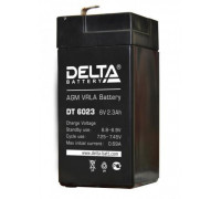 Аккумулятор для ИБП/UPS Delta DT 6023 (6 вольт 2.3 ач)